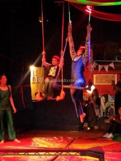 Shows circo interactivos