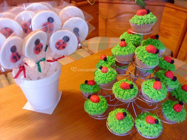 Divertidos cupcakes