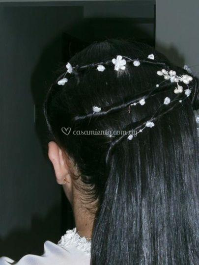 Detalles en el cabello
