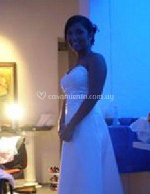 La feliz novia