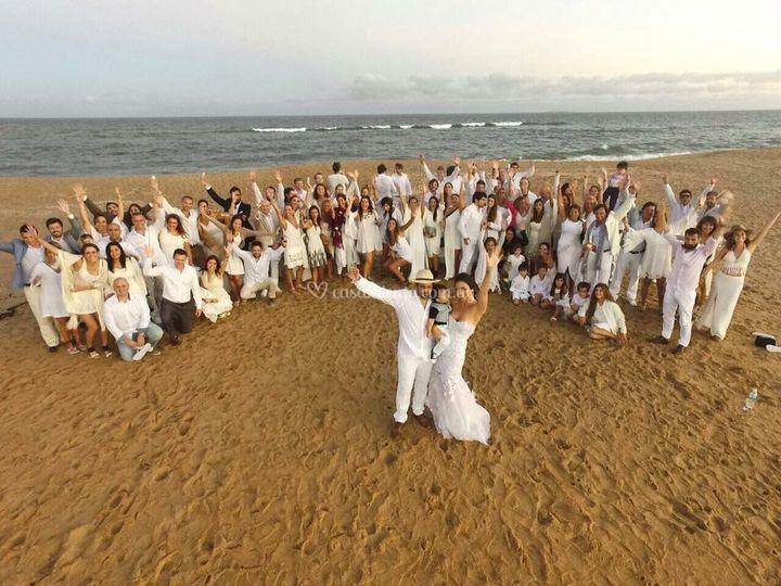 Casamiento paradisíaco