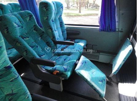 Cómodos asientos