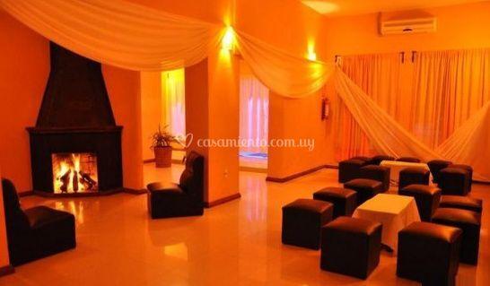Decoración de ambiente lounge