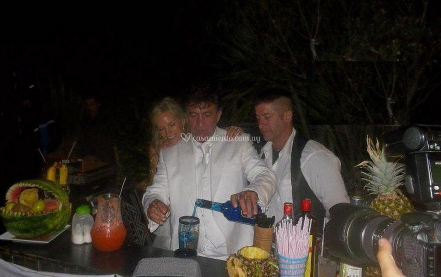 Cocktails en bodas