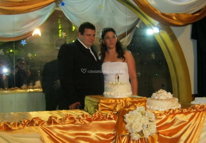 En su casamiento