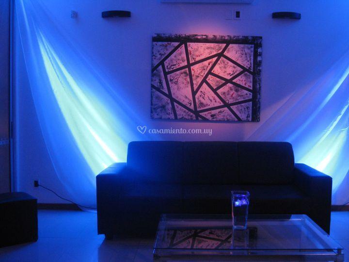 Efecto de luz con LED