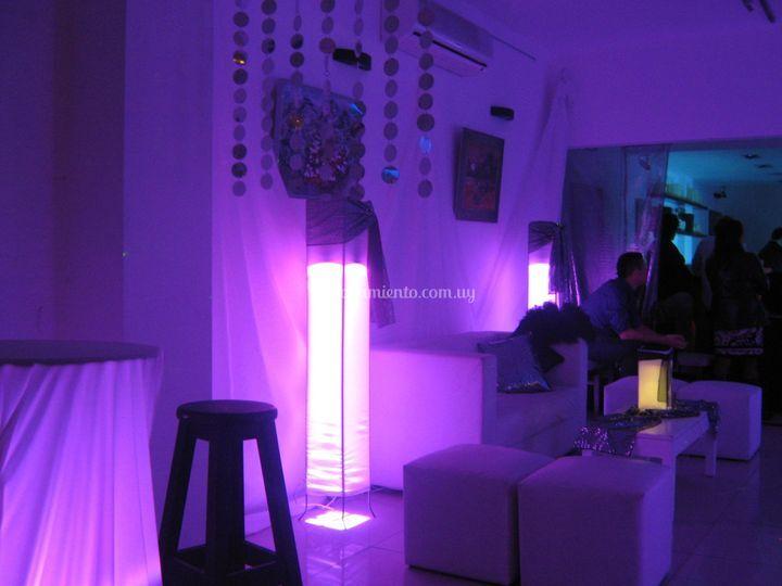 Prismas con LED