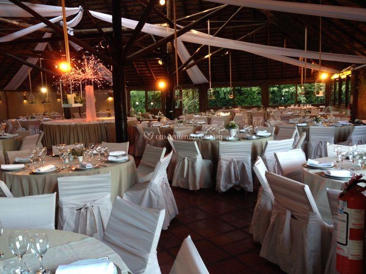 Panoramica salón comedor