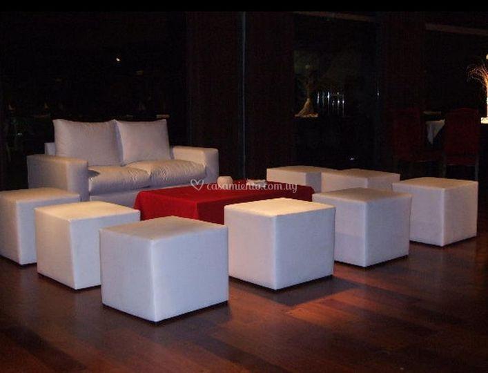 Muebles para sala lounge