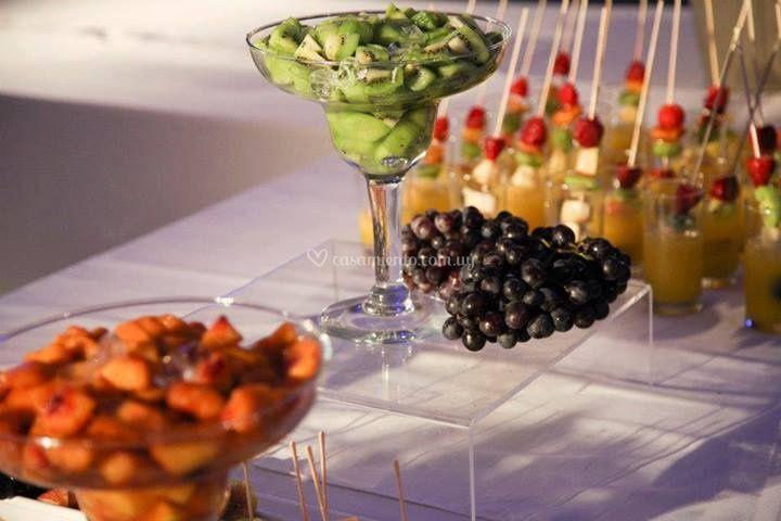 Frutas frescas para su enlace