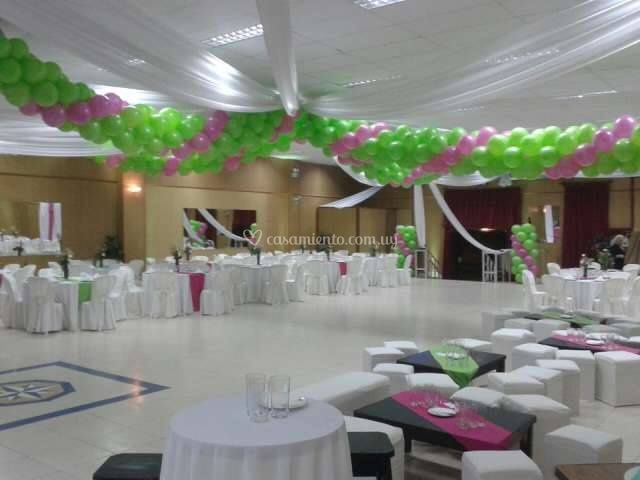 Salones ambientados para su boda