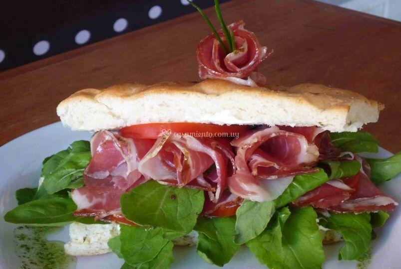Sandwiches rústicos