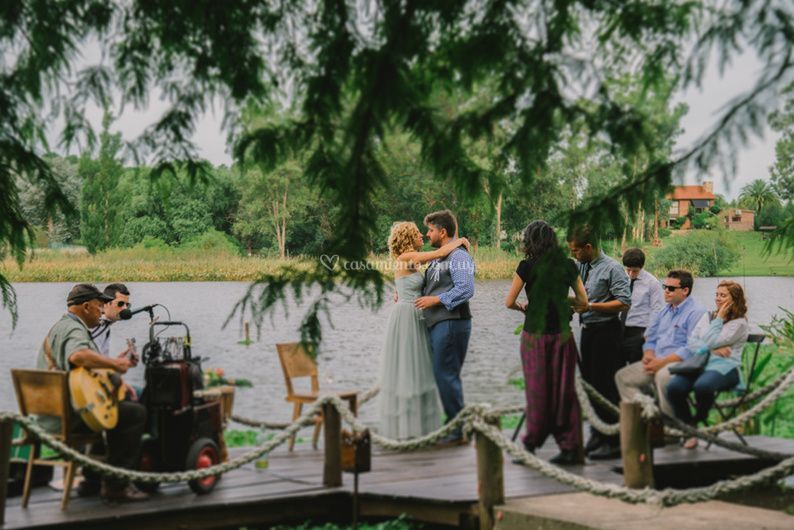 La celebración Carla y Luis