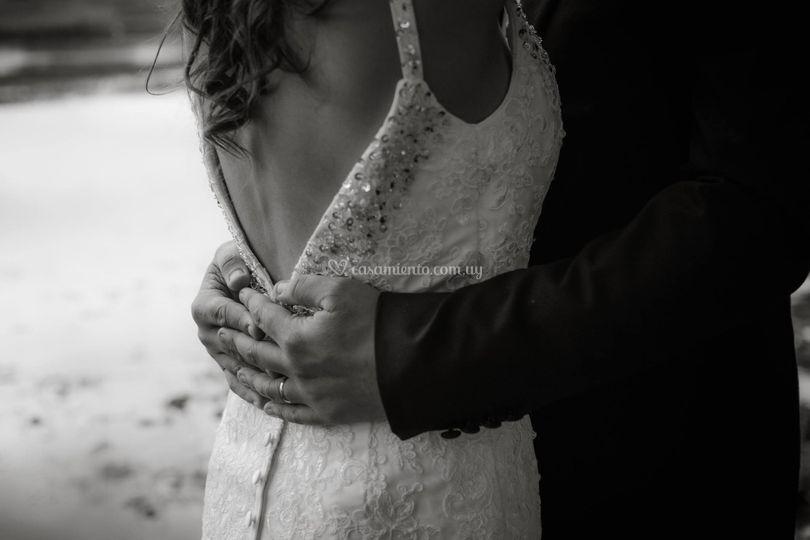 Recién casados Anto y Gaby