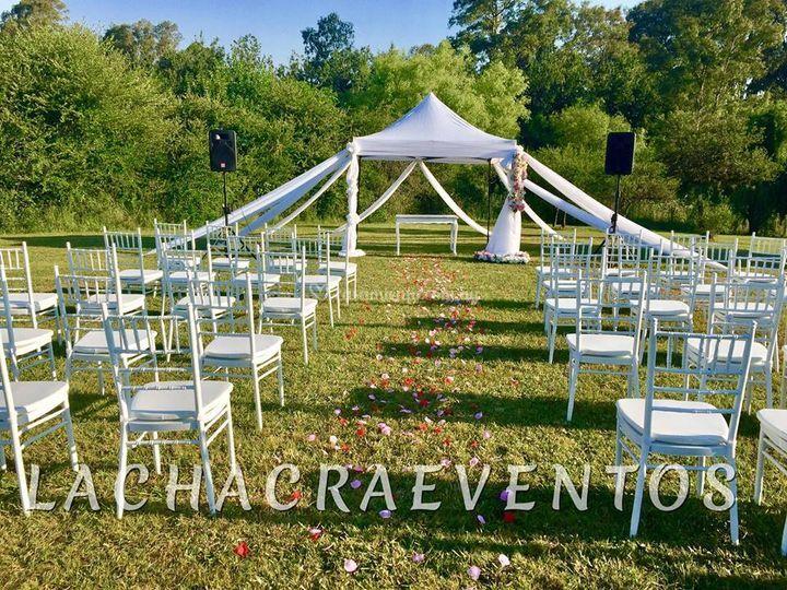 Ceremonias La Chacra eventos