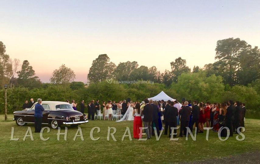 Ceremonia y novios