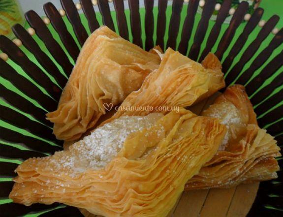 Pasteles de dulce