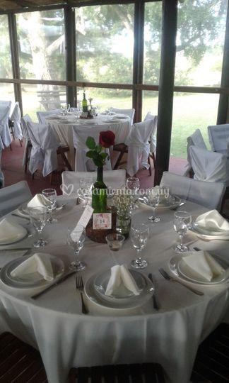 Mesas blancas