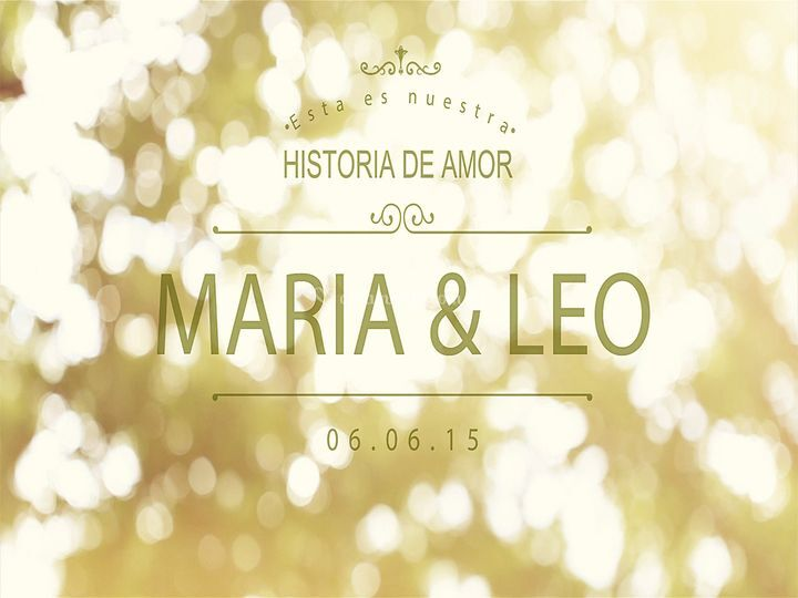 Leo y mery- pre boda