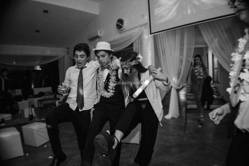 Pista de baile y detalles