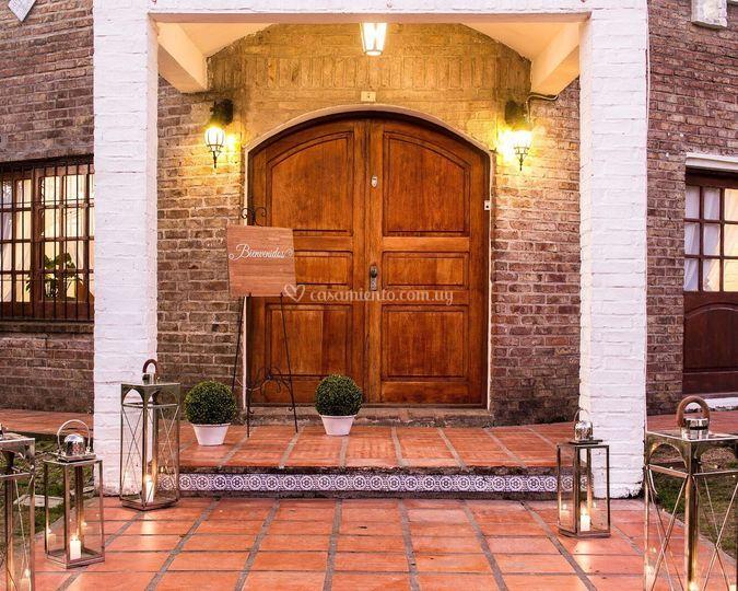Puerta princial