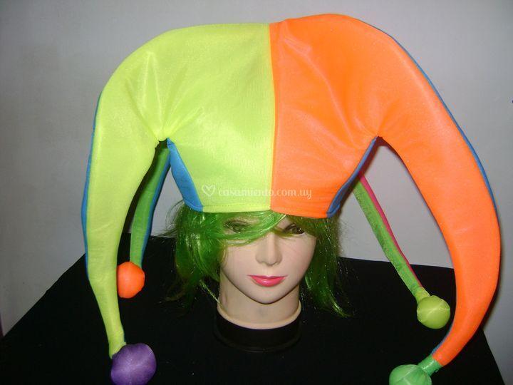 Sombrero arlequín