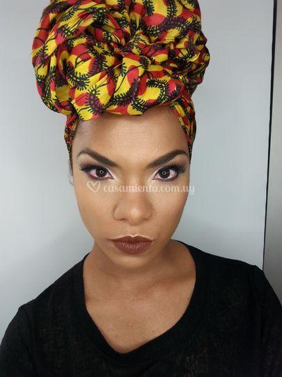 Novia African Look
