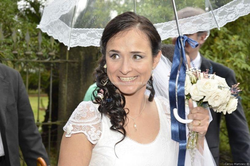 Paragüitas para la novia
