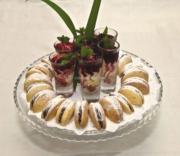 Buffet de bocaditos dulces