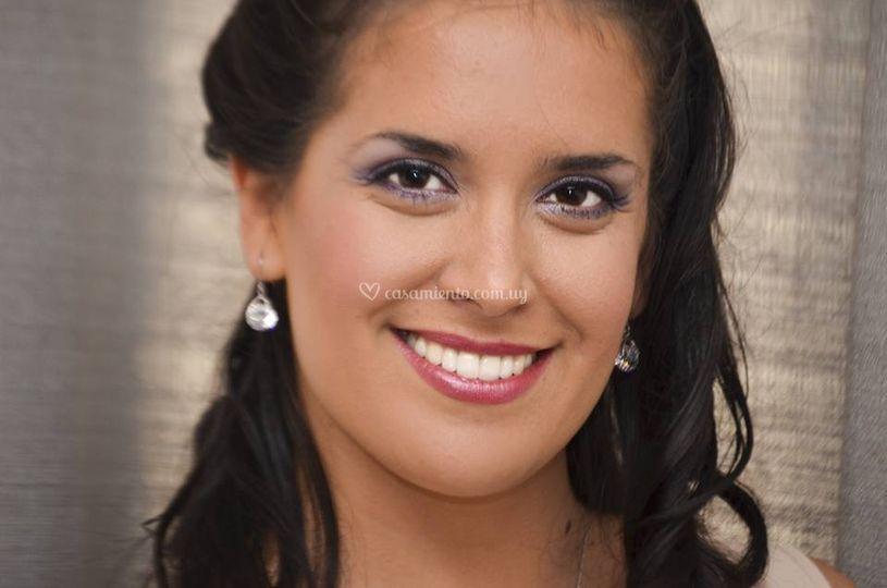 Maquillaje novia romántico