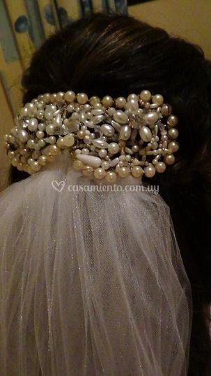 Variedad de perlas y brillo