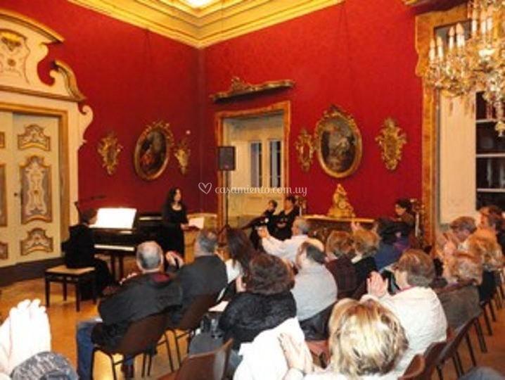 Sala Degli Arazzi, ceremonia
