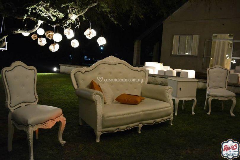 Muebles franceses para fotos