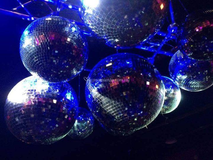 Show bolas de espejos