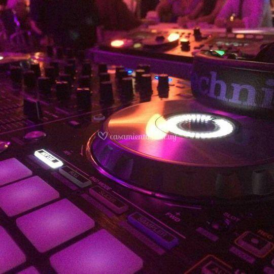 Mesa del DJ