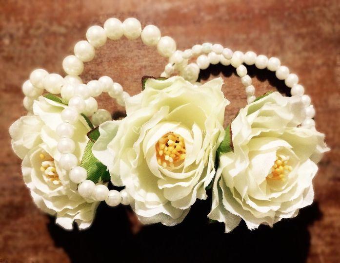 Rosas y perlas
