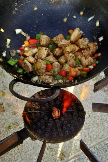 Cocina al público