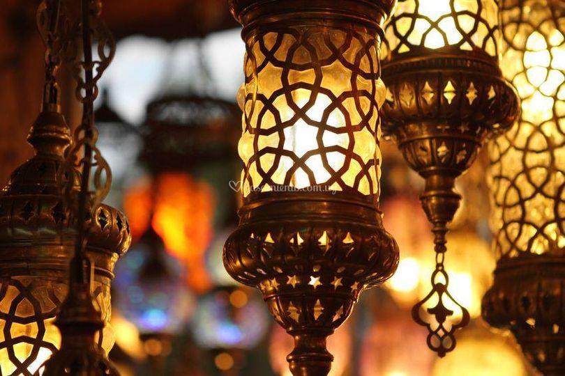 Hermosas lamparas turcas