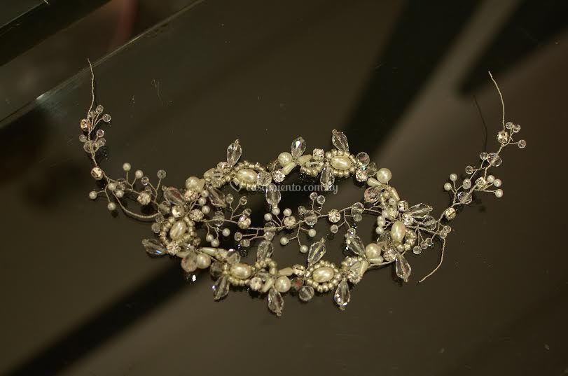 Cristales, perlas strass