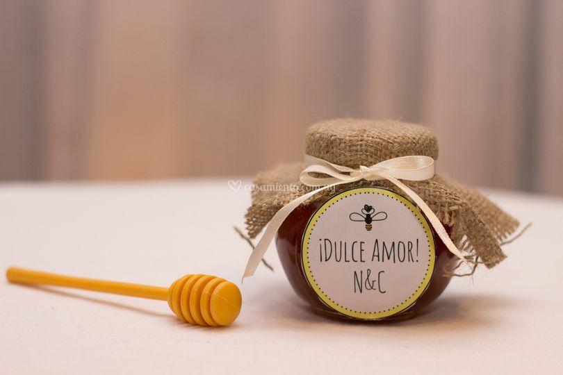 Miel, opción arpillera o tela