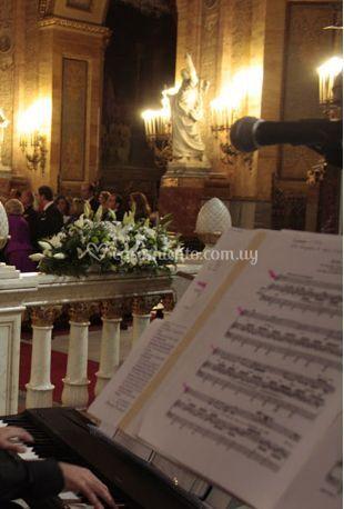 En su ceremonia