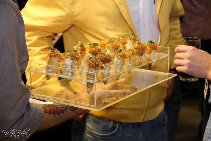Servicio de finger foods