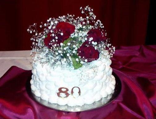 Torta 80 años