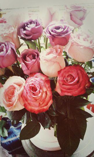 Rosas arreglos grande