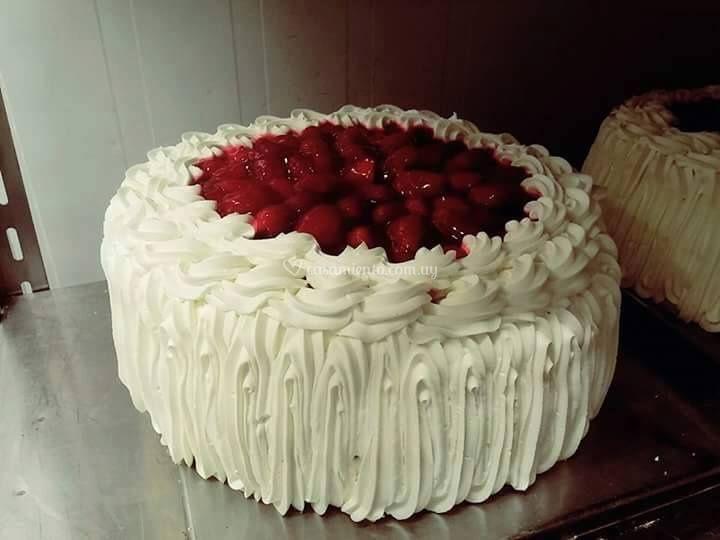 Torta de frutilla