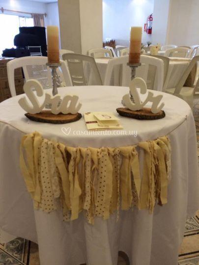 Decoración de boda