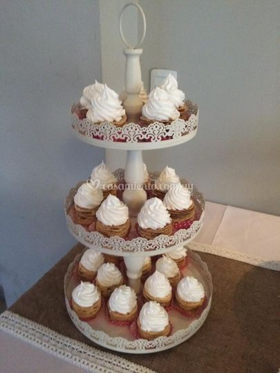 Torta de cupcakes