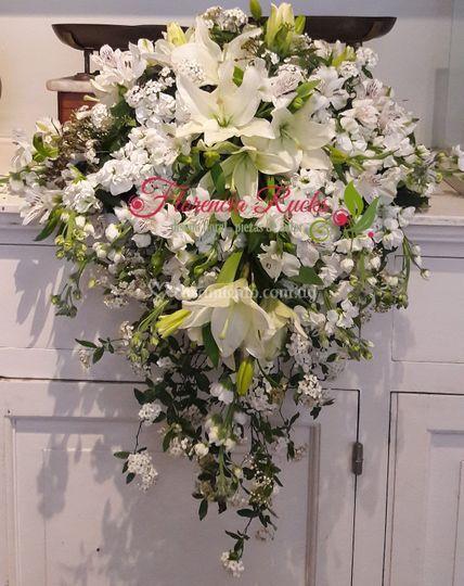 Arreglos florales en iglesias
