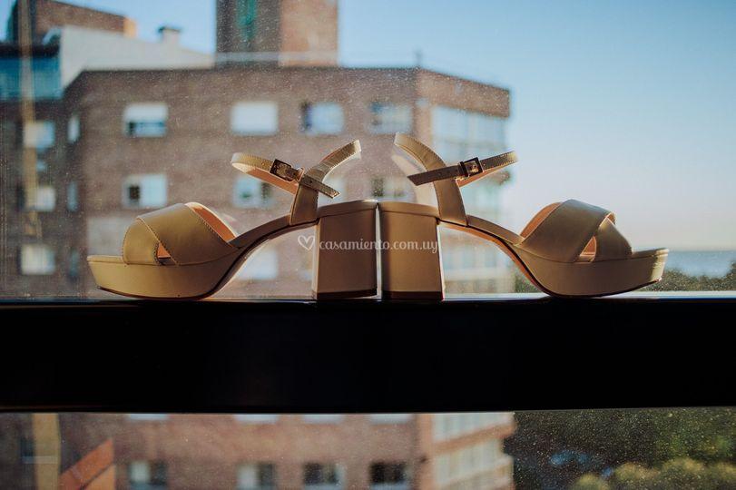 Destaques zapatos novia