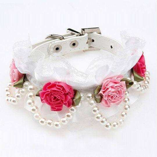 Collar de rosas